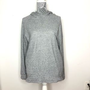 J. Crew Sweatshirt Gray Hoodie Fleece Size Large